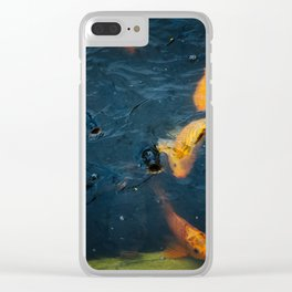 feeding time Clear iPhone Case