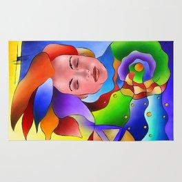 Fasettonia - colourful spirit Rug