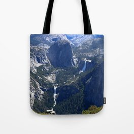 Vernal Falls And Nevada Falls Tote Bag