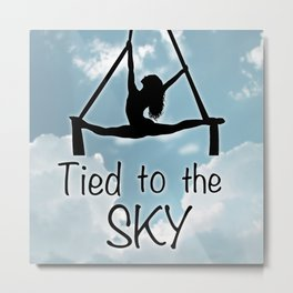 """Aeiralist """"Tied to the Sky"""" Graphic Metal Print"""