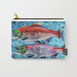 Spawning Red Salmon Carry-All Pouch