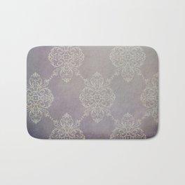 Vintage Damask - Violet Bath Mat