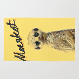 Meerkat | Yellowcard NO.1 Rug