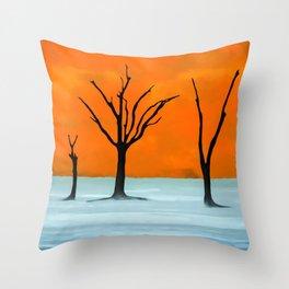 Sossusvlei, Namib Desert Throw Pillow
