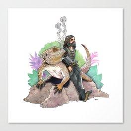 King Richard & Tad Cooper Canvas Print