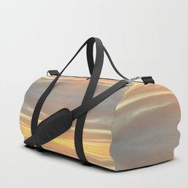 Abstract Sky Print Duffle Bag