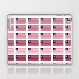 Flag of liberia-liberian,liberiano,pepper coast,kpelle,Bassa,Monrovia Laptop & iPad Skin