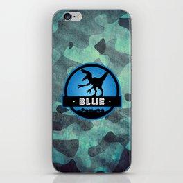 Velociraptor Squad: Blue Team iPhone Skin