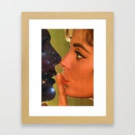 Lust In Space Framed Art Print