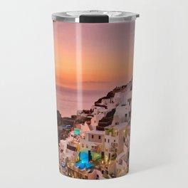 Oia Sunset Travel Mug