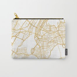 NEW YORK CITY NEW YORK CITY STREET MAP ART Carry-All Pouch
