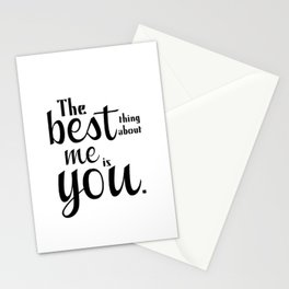 The Best Thing Stationery Cards