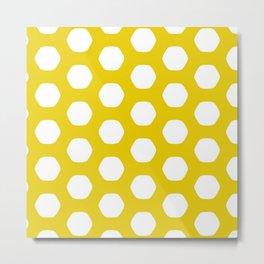 Paulsen Yellow Metal Print