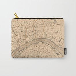 Vintage Map of Haverhill MA (1909) Carry-All Pouch