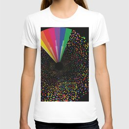 Reflections of Black T-shirt