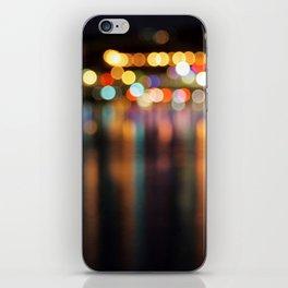 Bokeh City Night Lights iPhone Skin