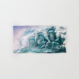 water horse Hand & Bath Towel