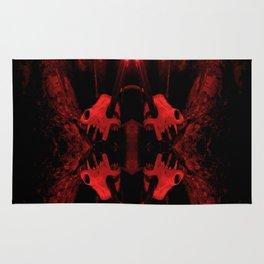 Wepwawet Crimson Rug