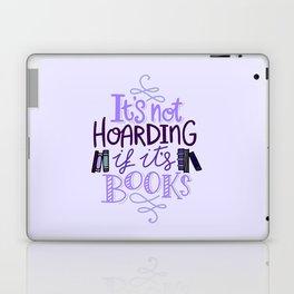 Book Hoarder - Purple Laptop & iPad Skin