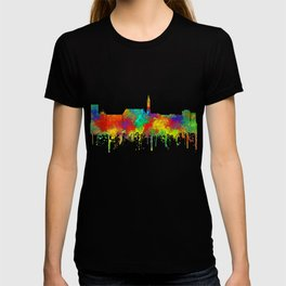 Cheyenne, Wyoming Skyline - SG T-shirt