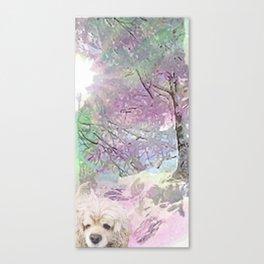 Snow Dog (for Philippa) Canvas Print