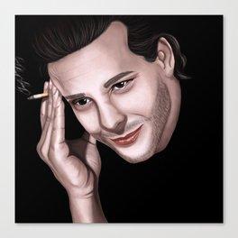 Mickey Rourke portrait Canvas Print