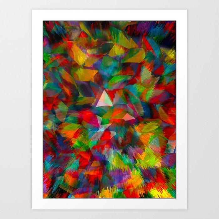 Pulsing Art Print