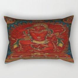 Kurukulla - Tibetan Buddhism Rectangular Pillow