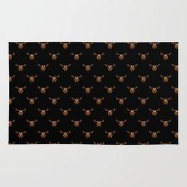 Dark Chocolate Moose Rug