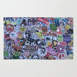 Front end Stickers Rug