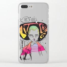 Bitchin Clear iPhone Case