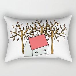 Casita de Otoño Rectangular Pillow
