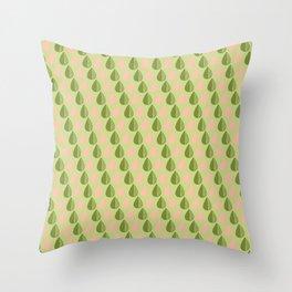Watermelon Neon Throw Pillow