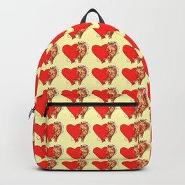 Heart Giraffe Backpack