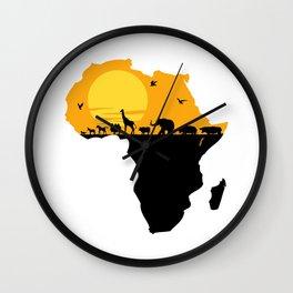 Africa Wall Clock