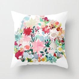 Aviary Throw Pillow