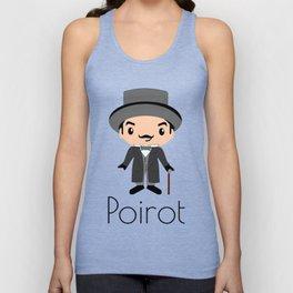 Hercule Poirot | Agatha Christie Unisex Tank Top
