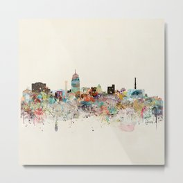 lansing michigan skyline Metal Print