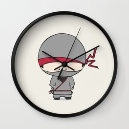 Natsu the Ninja Wall Clock