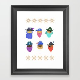 Pirates Framed Art Print