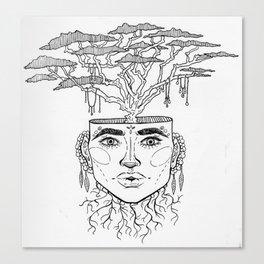 Tree Brain Canvas Print