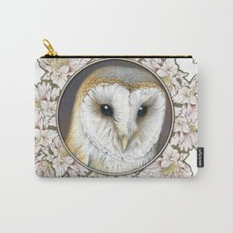 Barn owl small Carry-All Pouch