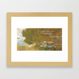 """Claude Monet """"The Water Lily Pond"""", c.1917-19 Framed Art Print"""