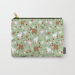 Happy Goats Carry-All Pouch