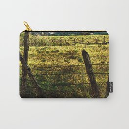 Old Fences Tell A Tale #2 Carry-All Pouch
