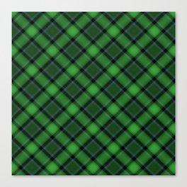 Green Scottish Fabric Canvas Print