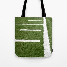 Football Lines Tote Bag