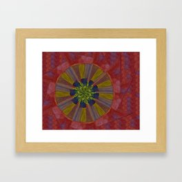 Marble World  Framed Art Print