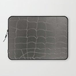 Crocodile silver skin Laptop Sleeve