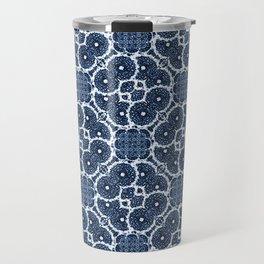 Blue Spinners Travel Mug